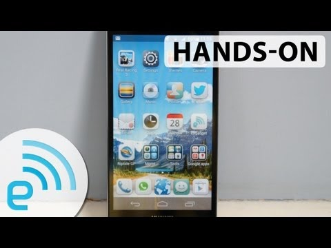 Hands-on with the Huawei Ascend P6: possibly the slimmest phone available   Engadget