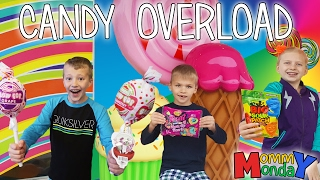 CANDY OVERLOAD! || Mommy Monday