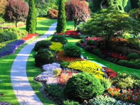 Los jardines mas bellos del mundo youtube for Jardines bellos fotos