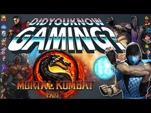 Mortal Kombat Part 2 - Did You Know Gaming? Feat. Two Best Friends Play (Matt & Pat)