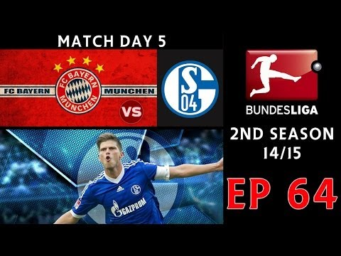 [TTB] PES 2014 - ML Series - Ep 64 - Bayern Munich Vs FC Schalke - Match Day 5