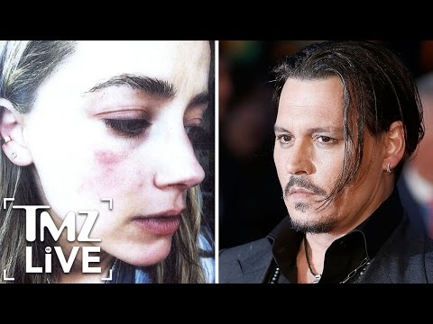 Johnny Depp & Amber Heard -- Alleged Domestic Violence Explained (TMZ Live)