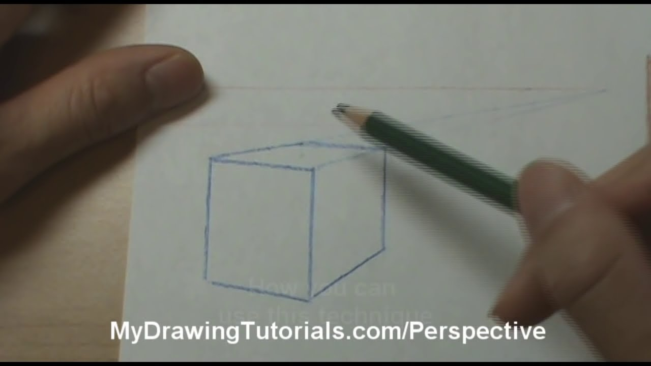 Perspective Drawing Tutorials Finding The Perspective