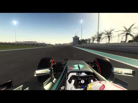 F1™ 2015 Onboard Lap of Abu Dubai Lewis Hamilton.