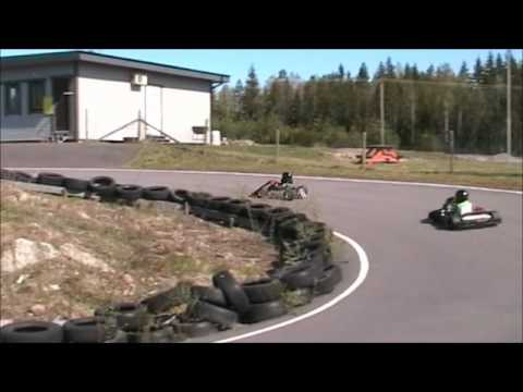 Little Kids in GoKart Racing 2011 part 1