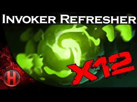 Dota 2 - Invoker Refresher 12