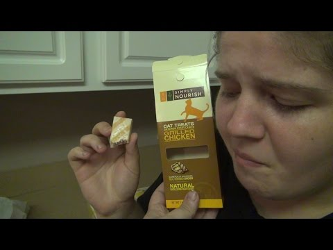 BRIDGETTE EATS CAT FOOD PRANK! (Vomit Alert)