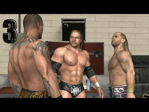WWE Smackdown vs Raw 2009 TRIPLE H PART 3 ROAD TO WRESTLEMANIA