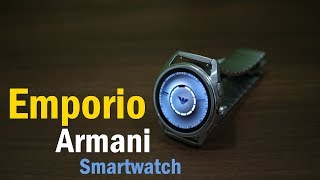 Emporio Armani Smartwatch review - Looks like a traditional premium watch, running Android Wear OS