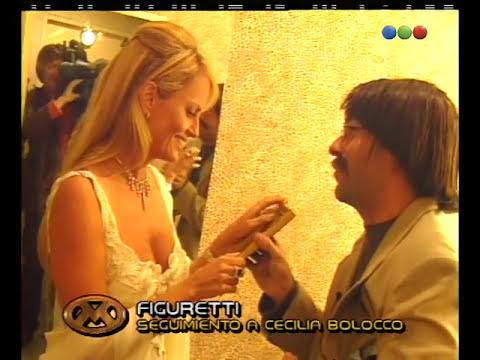 Figuretti, Cecilia Bolocco - Videomatch