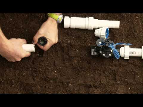 How To Repair PVC Sprinkler Pipe; Glueless Adapter & Slide Fitting PVC-Lock®