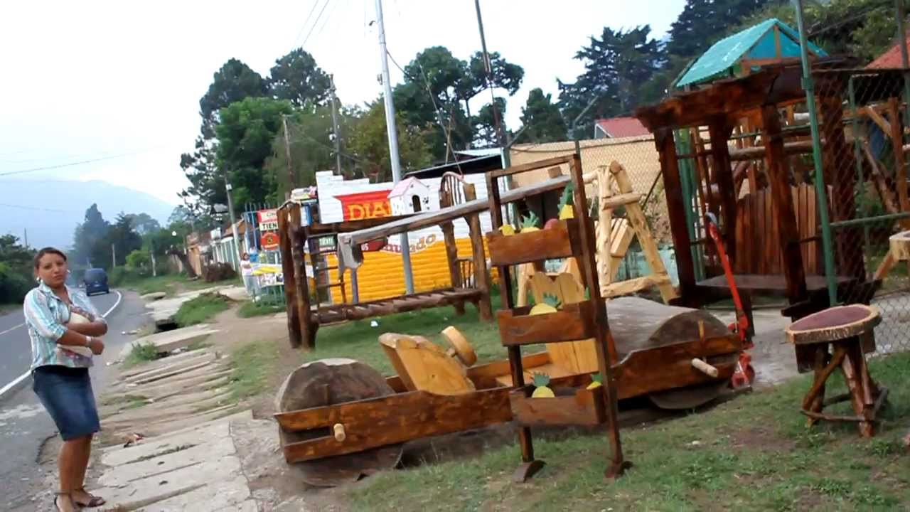 Muebles rusticos youtube for Muebles salvador