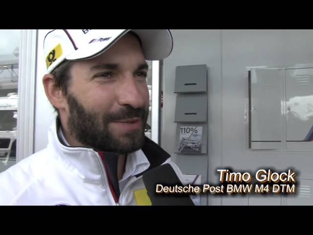DTM driver Timo Glock wishes Dortmund win the Cup