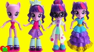 My Little Pony Twilight Sparkle Rarity Switch and Mix Fashion