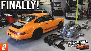 Transforming the Turbo Porsche 911 (964) - Widebody + New Bumpers - Part 1