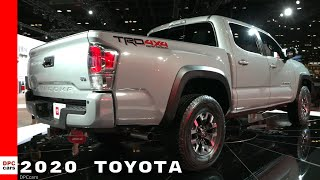 2020 Toyota Sequoia TRD Pro, Tacoma, and RAV4 Off Road
