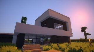 Play minecraft modern house 9 modernes haus hd for Craftingpat modernes redstone haus