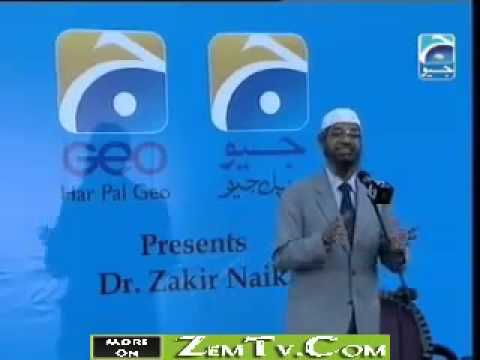 Dr.zakir Naik Media And Islam Ramadan Special On Geo Tv (urdu) Part 1 8 video