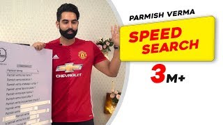 Parmish Verma Answers The Most Searched Speed Questions | Secret Behind Parineeti Chopra