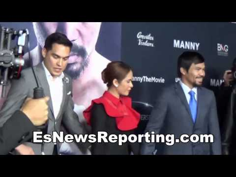 floyd mayweather vs manny pacquiao arum says networks solved issues just two things remain