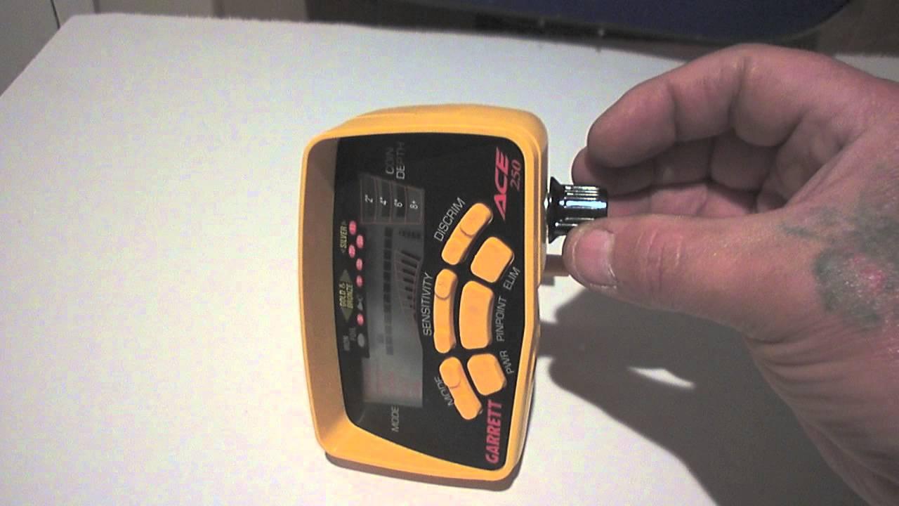 Garrett Ace 250 Mods Volume And Led Quot Metal Detecting
