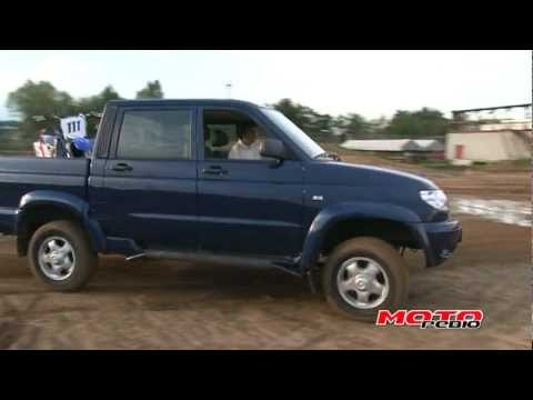 Моторевью: UAZ Pickup 23632-136, тест-драйв