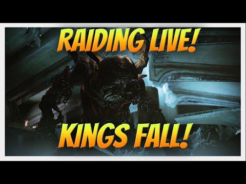 Live Streaming Archive! Kings Fall Raid Fresh Run. Destiny The Taken King.