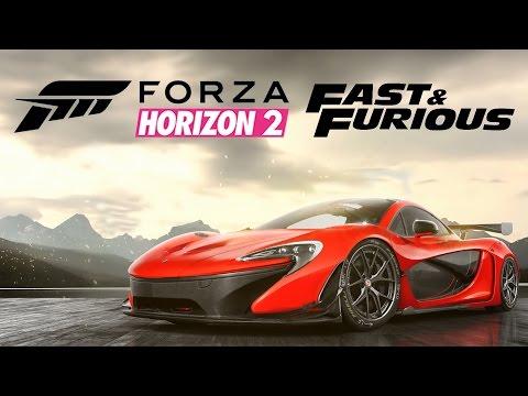 #4 Zagrajmy w Forza Horizon 2 Fast Furious PL McLaren P1 i Bugatti Veyron 1080P