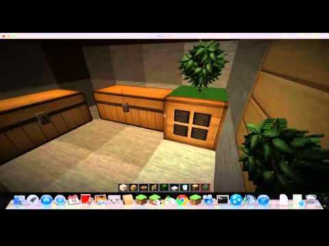 Casa moderna modern house 6x6 ita minecraft youtube for Casa moderna 9x9