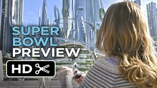 Video clip Tomorrowland Official Super Bowl Preview (2015) - George Clooney Movie HD