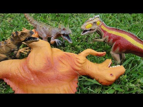 T-REX и новый план хитрого СПИНОЗАВРА. ТОЛЬКО НОВЫЕ мультфильмы про динозавров