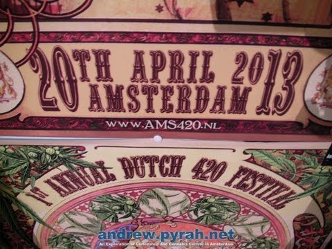 1st Annual Dutch 420 Festival - Amsterdam April 20 2013 #AMS420