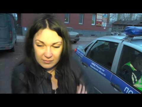 Погоня за пьяным на Субару, ул. Красина. Место происшествия 18.05.2017