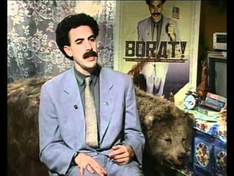 Borat (Sacha Baron Cohen) on women's Rights