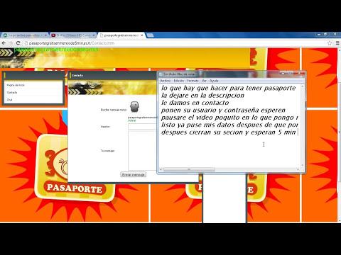 Como tener pasaporte 100% gratis (SI FUNCIONA) 2013