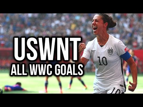 USWNT - All Women's 2015 World Cup Goals - 1080p HD
