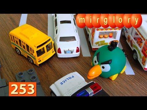 Машинки Мультики про Паровозики Парковка Город машинок 253 серия Мультики для детей про игрушки