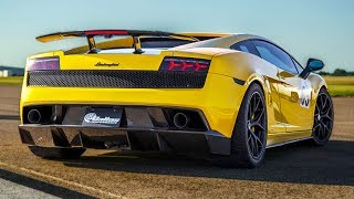 First Time Driver Rips 1700hp Lambo on Pump Gas