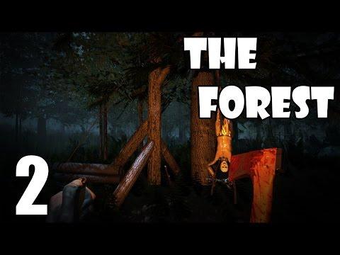 Глебка выживает в The Forest #2 - Крышуем лес!