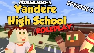 CAUGHT BY THE COPS! | Minecraft Yandere High School #3