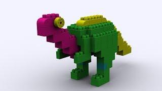 Lắp ghép khủng long - Đồ chơi xếp hình -  Puzzle toys