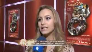 TV Fama - Carla Diaz desabafa sobre Michel Teló