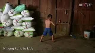 Hmong Kung Fu Kids - 'Kuv yog hmoob' Keej tiag tus tub nov