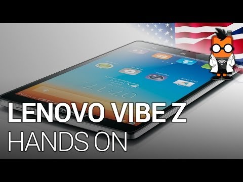 Lenovo Vibe Z Hands On - Qualcomm Snapdragon 800 Smartphone [ENG]