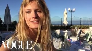 Constance Jablonski's Picture-Perfect Beach Vacation