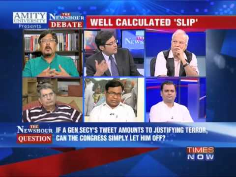 The Newshour Debate:On Shakeel Ahmed's Tweet (Part 1)