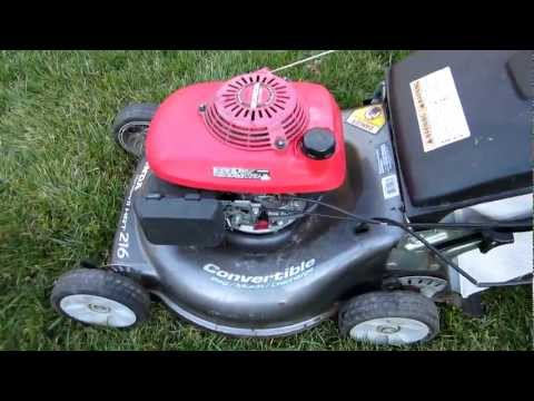 Honda Harmony II HRT 216 SDA Broken Craigslist Find Lawn Mower Repair - Part I - March 26. 2013