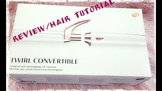 T3 TWIRL CONVERTIBLE  Curling IRON REVIEW