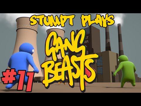 Stumpt Plays - Gang Beasts - #11 - Climb The Walls!