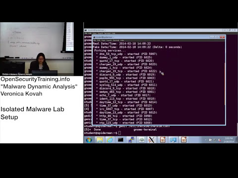 Dynamic Malware Analysis D1P10 Isolated Malware Lab Setup